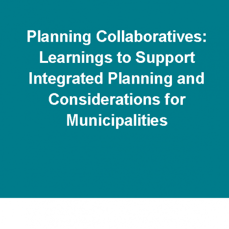 Planning Collaboratives