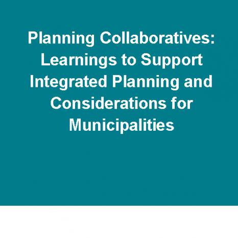 Planning Collaboratives