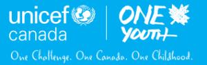 UNICEF Canada One Youth Logo