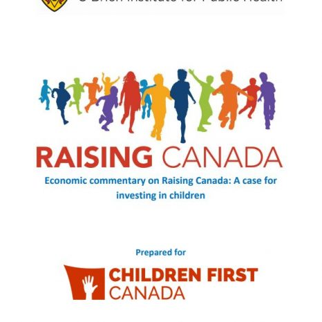 Raising Canada. Economic commentary on Raising Canada: A case for investing in children