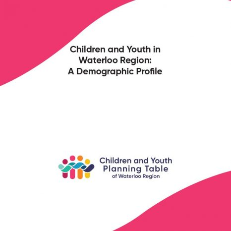 Children and Youth in Waterloo Region: A Demographic Profile