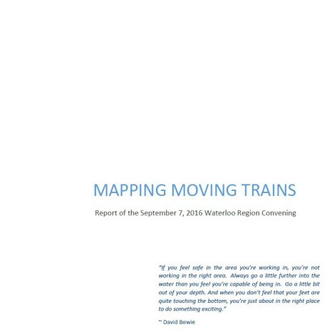 Mapping Moving Trains