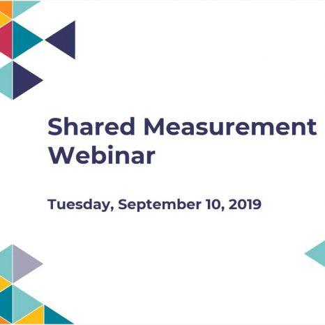Shared Measurement Evolution Webinar