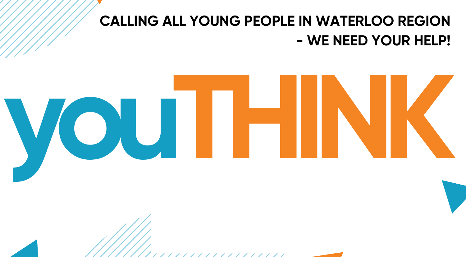 youTHINK, an event for young people in waterloo region.