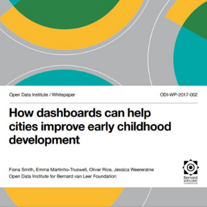 how dashboards can help cities improve early childhood development title page